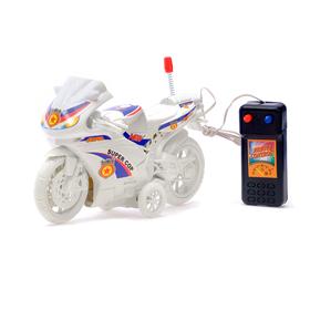 Мотоцикл «Спортбайк», на дистанционном управлении, работает от батареек