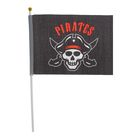 "Флаг пирата настольный ""Pirates"", 14 х 21 см"