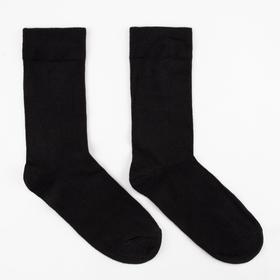 Носки мужские OPTIMA черный, р-р 25-27