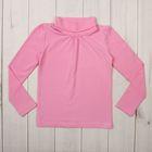 Водолазка для девочки, рост 110-116 см, цвет розовый М-250