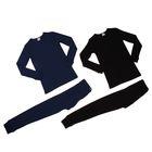 Комплект для мальчика (джемпер, кальсоны), рост 122 см, цвет чёрный