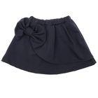 Юбка с бантом для девочки, рост 158-164 см, цвет тёмно-серый 1019_П