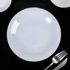 Тарелка мелкая d=18,5 см «Это», цвет белый