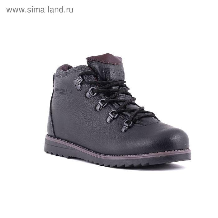 Ботинки TREK Литл Парк 95-56 мех (черный) детские (р.36)
