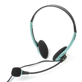 Гарнитура SmartBuy EZ-TALK MKII, кабель 2 м, синяя