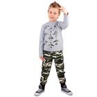 """Джемпер для мальчика """"Патруль"""", рост 98 см (52), цвет серый ПДД236805_1"""