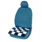 Накидка на сиденье, 48х48 см, шерсть 100%, МИКС