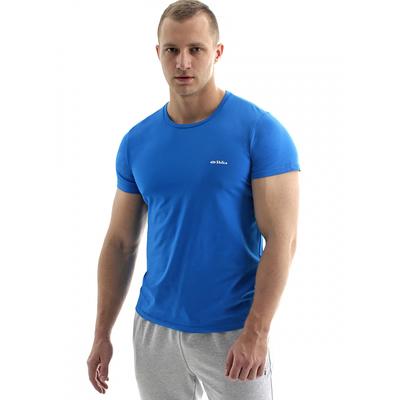 Футболка мужская арт.022F73-2 цвет лазурный, рост 170, р-р 44 (S)