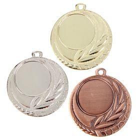 Медаль под нанесение 042 серебро Ош