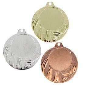 Медаль под нанесение 049 диам 4 см. Цвет сер Ош