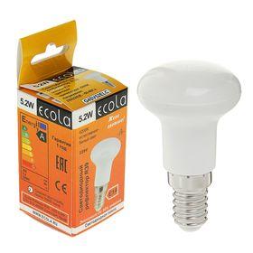 Лампа светодиодная Ecola Reflector, R39, LED, Е14, 5.2 Вт, 220 В, 4200 K, 69x39 мм