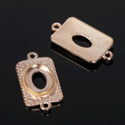 Коннектор (набор 4шт), площадка 10*14мм, Т196, цвет золото