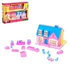 """Дом для кукол """"Создай уют"""", складной, с мебелью и аксессуарами"""