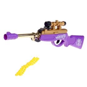 """Ружье пневматическое """"Снайпер"""", стреляет силиконовыми пулями, цвета МИКС"""