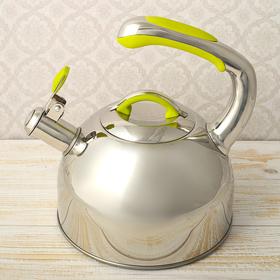 """Чайник со свистком """"Нова"""", макс. объем 2,5 л, капсулированное трехслойное дно"""