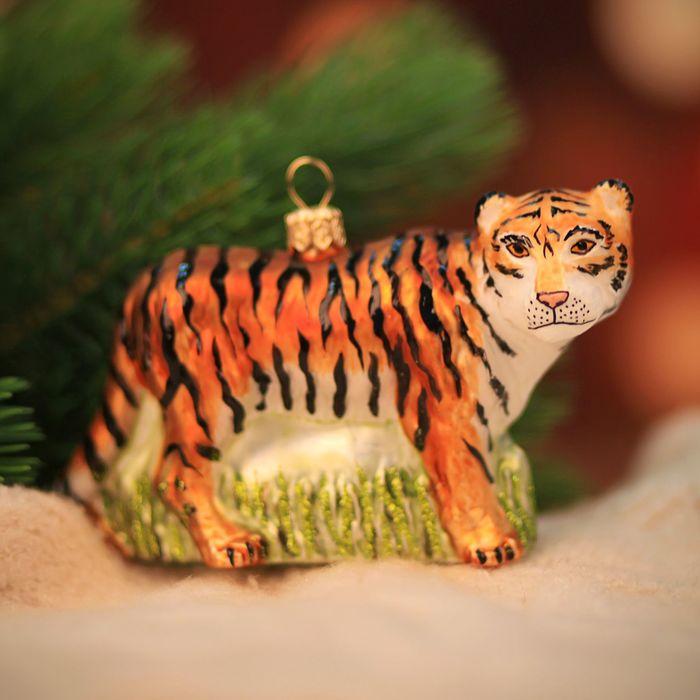 "Ёлочная игрушка ""Тигр"""