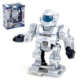"""Робот """"Космический воин"""", световые и звуковые эффекты, ходит"""
