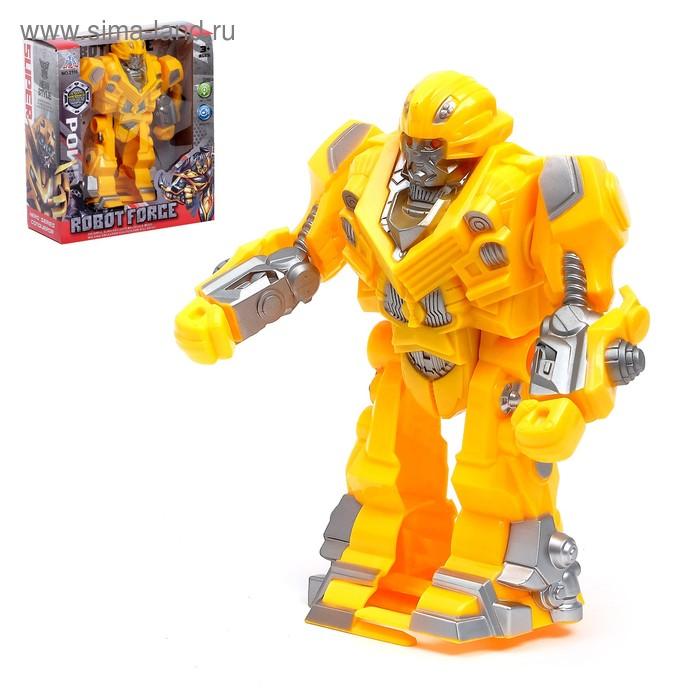 """Робот """"Автобот"""", световые и звуковые эффекты, ходит"""