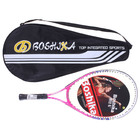Ракетка для большого тенниса BOSHIKA детская, алюминиевая, в чехле, цвет розовый