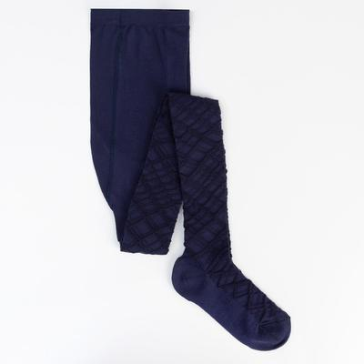 Колготки детские 2ФС73, цвет темно-синий, рост 134-140 см