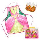 """Фартук и корона """"Набор для настоящей принцессы"""""""