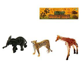 Набор животных «Африка», 3 предмета