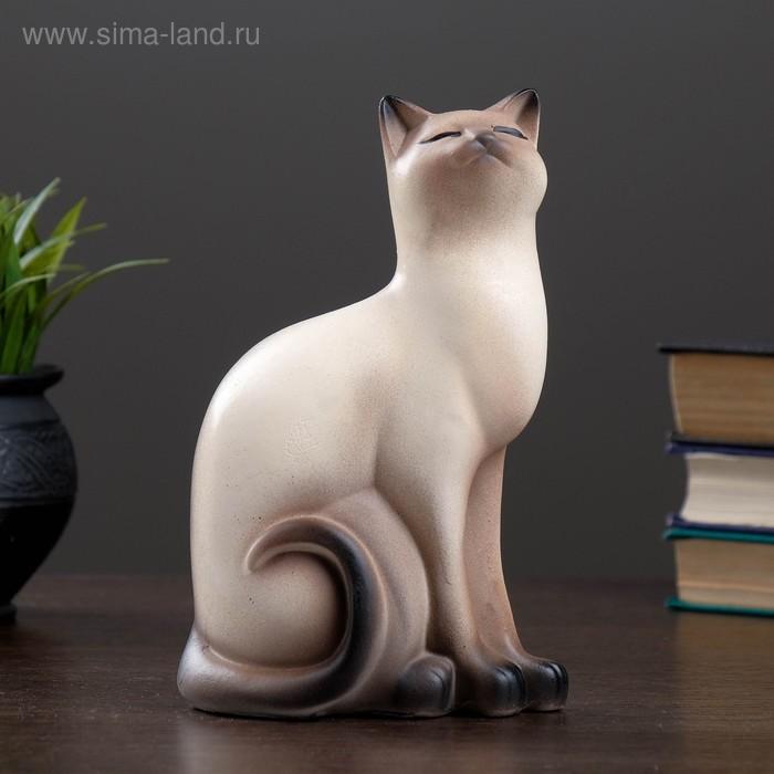"""Сувенир """"Кошка Мурка"""" большая бежевая"""