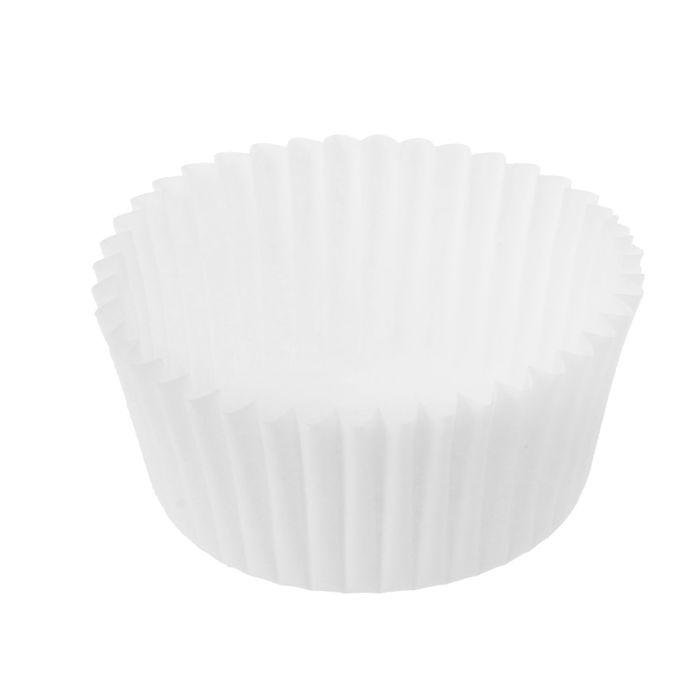 Тарталетка круг, белая, 3,5 х 2 см, в наборе 2000 штук