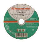 Круг отрезной Hammer Flex 232-003, A 36 S BF, 150 x 2 x 22.23 мм, по металлу
