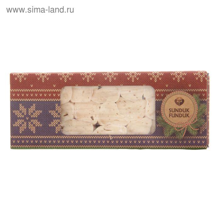 Лукум фитиль сапонария с арахисом кубики 220 гр ТМ Sunduk Funduk