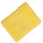Полотенце махровое Fiesta Elara 30х50 см желтый 400гр/м, хлопок 100%