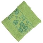 Полотенце махровое Fiesta Elara 50х90 см зеленый 400гр/м, хлопок 100%