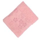 Полотенце махровое Fiesta Elara 50х90 см розовый 400гр/м, хлопок 100%