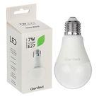 Светодиодная лампа Geniled E27, А60, 7 Вт, 4200 К, дневной свет