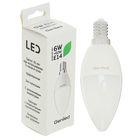 Светодиодная лампа Geniled, E14, C37, 6 Вт, 4200 К, холодный белый