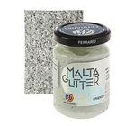 Паста текстурная 150 мл Ferrario MALTA с глиттерами №09 серебро 150009