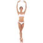 Лиф для гимнастики, размер 38, цвет белый