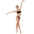 Лиф для гимнастики, размер 30, цвет чёрный