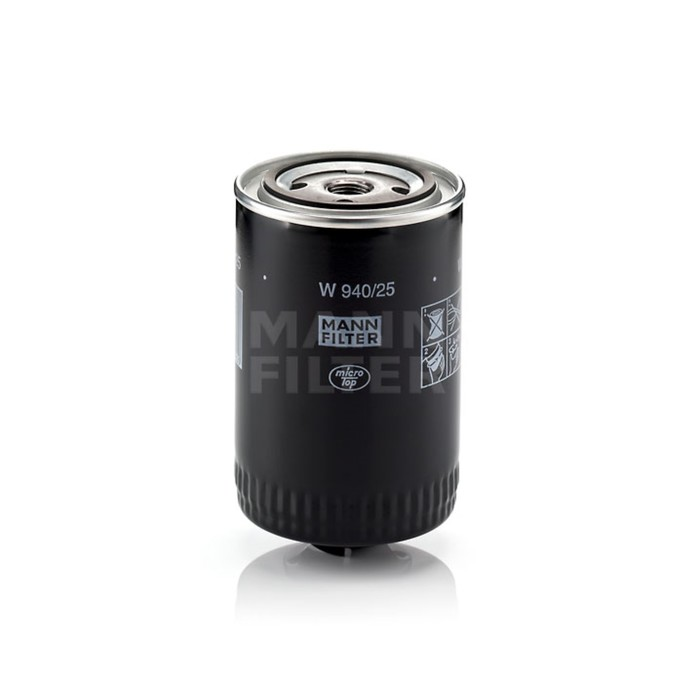Фильтр масляный MANN-FILTER W940/25