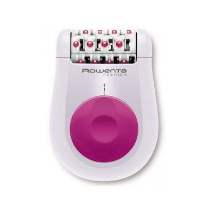 Эпилятор Rowenta EP-1030F5, 2 скорости, белый/розовый