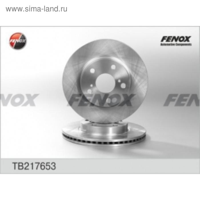 Диск тормозной Fenox tb217653