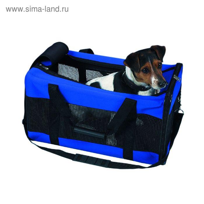 Транспортная сумка Trixie, 55 х 30 х 30 см., синяя