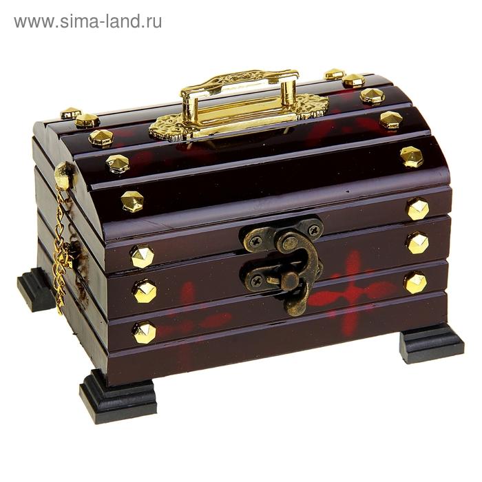 "Шкатулка музыкальная ""Сундук средний"""