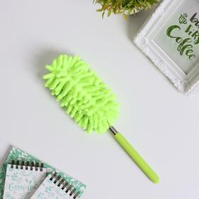 Щетка для уборки, телескопическая ручка 26-75 см, цвета МИКС