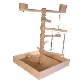 Игровая Trixie площадка для попугая, 41 х 55 х 41 см.