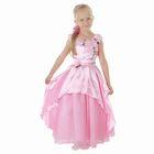 """Карнавальное платье """"Принцесса 002"""", р-р 56, рост 98-104 см, цвет розовый"""