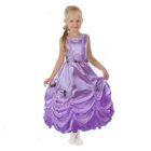 """Карнавальное платье """"Принцесса 003"""", р-р 56, рост 98-104 см, цвет сиреневый"""