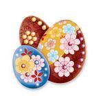 Набор для декупажа пасхальных яиц №1 + стразы