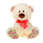 """Мягкая игрушка """"Медвежонок Ник"""" цвета бежевый"""