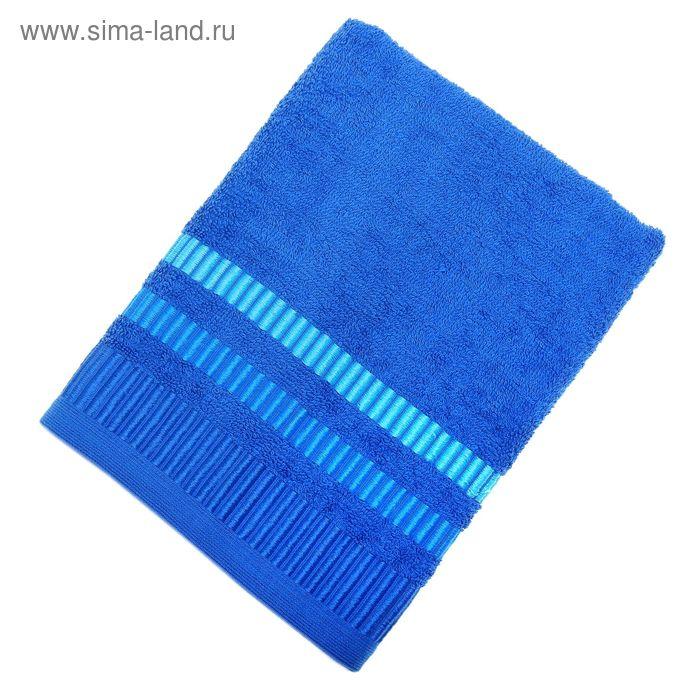 Полотенце махровое TW-Nice, размер 50х90, 340 г/м, цвет синий